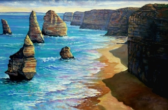 12 apostles great ocean road australiaPicture