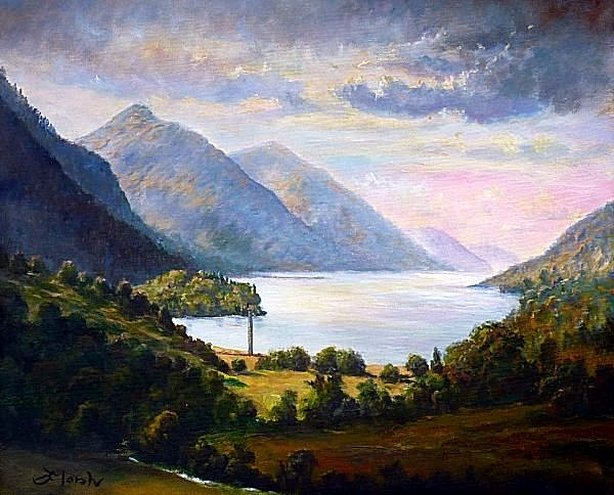 Loch Shiel & the Glenfinnan Monument, Scotland