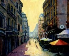 L'escargot rue montorgueil paris france painting