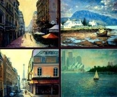 prints and cards from paintings by fred marsh
