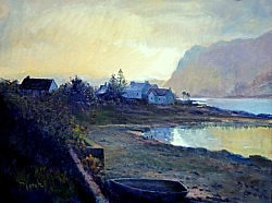 Plockton Scotland original oil