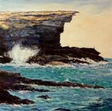 Curracurrang Royal national park sydney painting